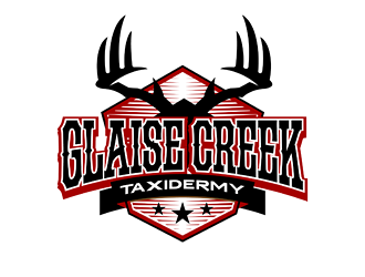 Glaise Creek Taxidermy logo design concepts #7