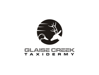 Glaise Creek Taxidermy logo design concepts #8