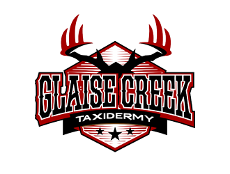 Glaise Creek Taxidermy logo design concepts #11