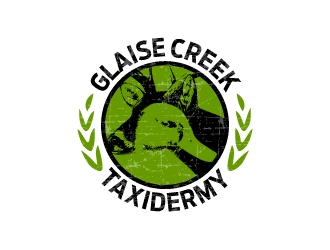 Glaise Creek Taxidermy logo design concepts #15