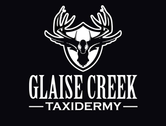 Glaise Creek Taxidermy logo design concepts #17