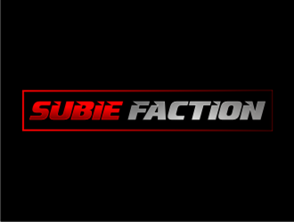 Subie Faction logo design concepts #20