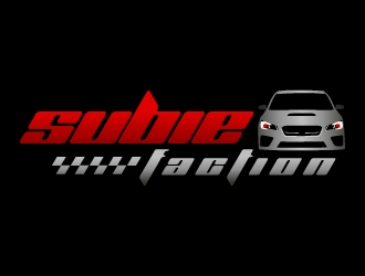 Subie Faction logo design concepts #27