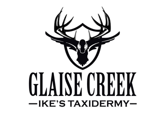 Glaise Creek Taxidermy logo design concepts #22