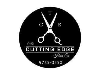 The Cutting Edge Hair Co. Logo Design