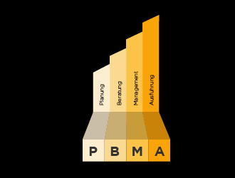 PBMA logo design concepts #25