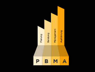 PBMA logo design concepts #26