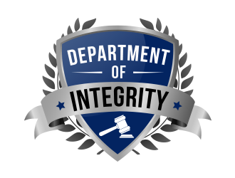 Department of Integrity logo design