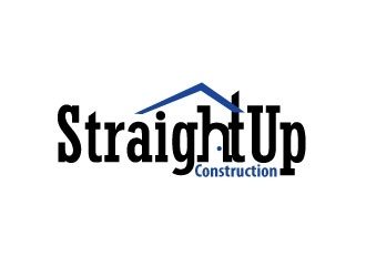 Straight Up Construction logo design concepts #1
