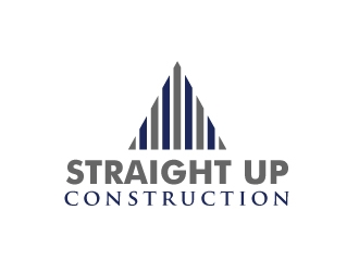 Straight Up Construction logo design concepts #2