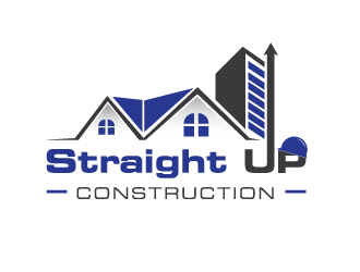 Straight Up Construction logo design concepts #6