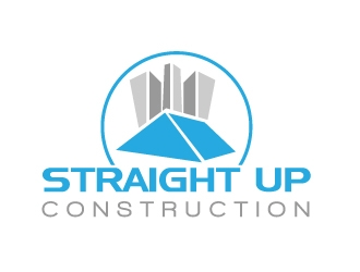 Straight Up Construction logo design concepts #7