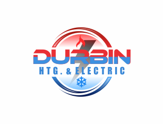 Durbin Htg. & Electric logo design concepts #2
