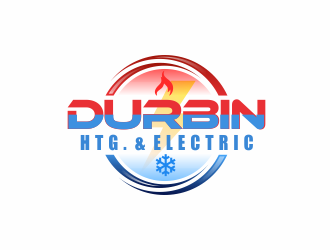 Durbin Htg. & Electric logo design concepts #3
