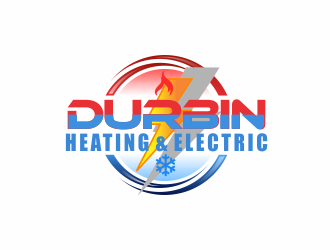 Durbin Htg. & Electric logo design concepts #6
