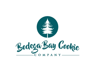 Bodega Bay Cookie Company logo design concepts #4