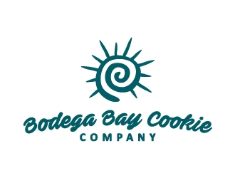 Bodega Bay Cookie Company logo design concepts #11