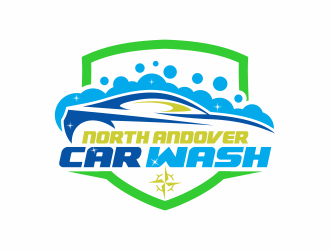 North Andover Car Wash logo design concepts #8