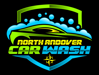 North Andover Car Wash logo design concepts #10
