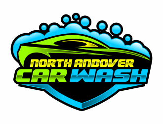 North Andover Car Wash logo design concepts #1