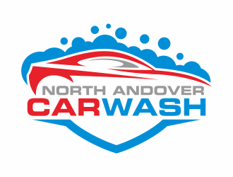 North Andover Car Wash logo design concepts #4