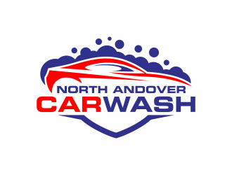 North Andover Car Wash logo design concepts #6