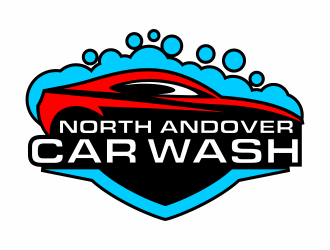 North Andover Car Wash logo design concepts #9