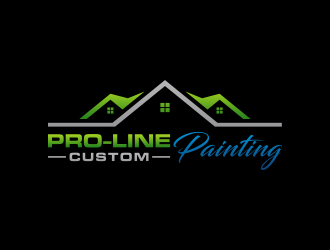 Pro-Line Custom Painting logo design concepts #1