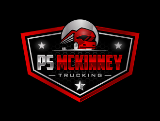 PS MCKINNEY Trucking logo design concepts #1