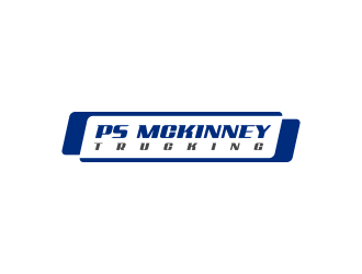 PS MCKINNEY Trucking logo design concepts #4