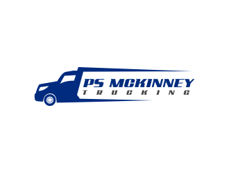 PS MCKINNEY Trucking logo design concepts #6