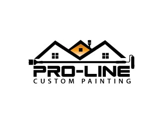 Pro-Line Custom Painting logo design concepts #2
