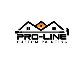 Pro-Line Custom Painting logo design concepts #3