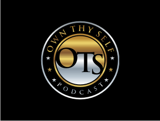 Own Thy Self Podcast / OTS Podcast logo design concepts #4