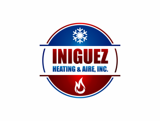 Iniguez Heating & Aire, Inc. logo design concepts #1