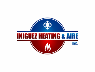 Iniguez Heating & Aire, Inc. logo design concepts #2
