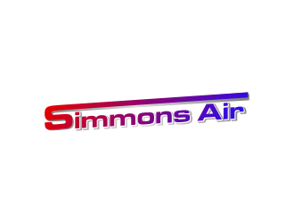 Simmons Air logo design concepts #7