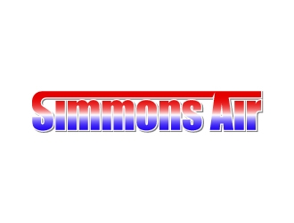 Simmons Air logo design concepts #9