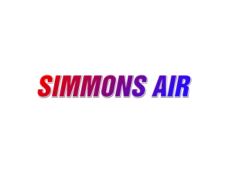 Simmons Air logo design concepts #12
