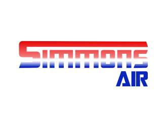 Simmons Air logo design concepts #13