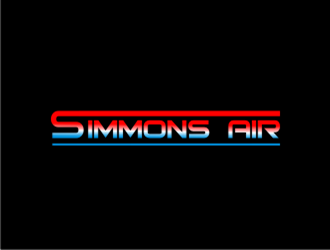 Simmons Air logo design concepts #17