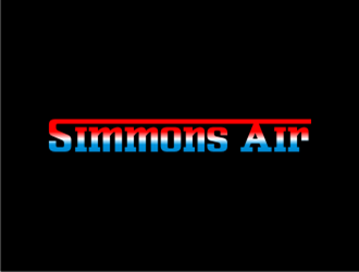 Simmons Air logo design concepts #20