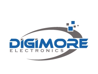 Digimore Electronics logo design concepts #1