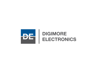 Digimore Electronics logo design concepts #2
