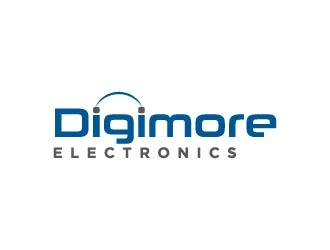 Digimore Electronics logo design concepts #3