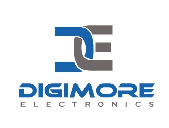Digimore Electronics logo design concepts #4