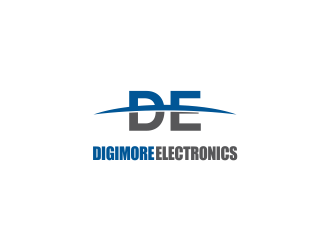 Digimore Electronics logo design concepts #5