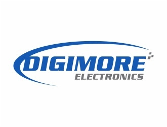 Digimore Electronics logo design concepts #8