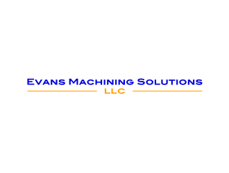 Evans Machining Solutions LLC logo design concepts #1