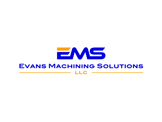 Evans Machining Solutions LLC logo design concepts #3